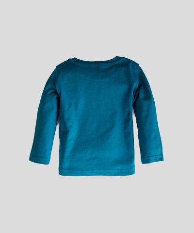 Блуза с дълъг ръкав и принт outerrrrr space