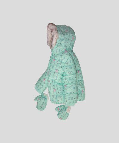 Водоустойчиво яке със зайчета