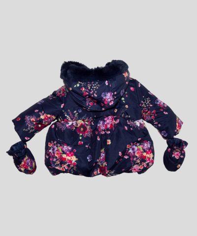 Водоустойчиво палтенце с цветя