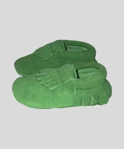 Велурени пантофки с ресни