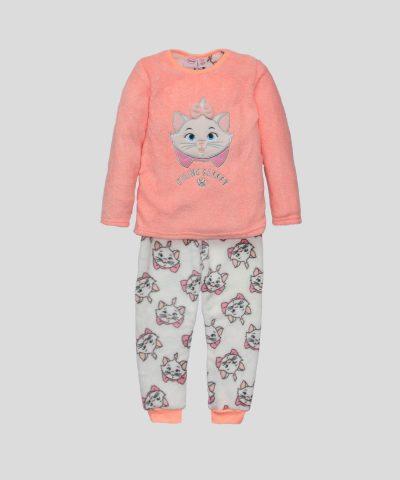 Детска пижама от полар с Фелин за момиче