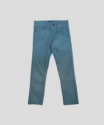Детски панталон в син цвят за момче