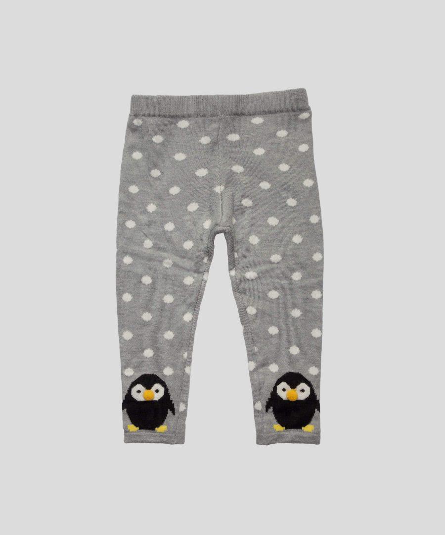 Плетен клин с пингвини