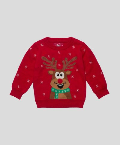 Коледен пуловер с елен
