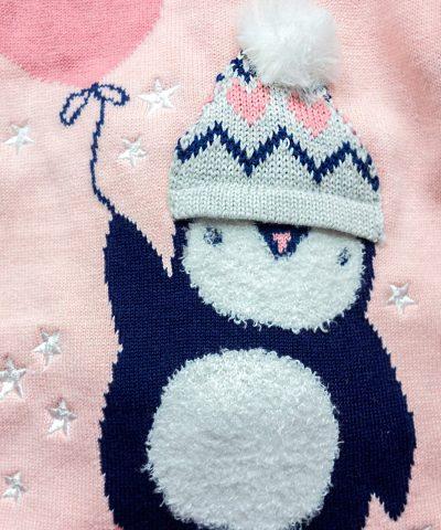 Рокля с пингвин и чорапогащник
