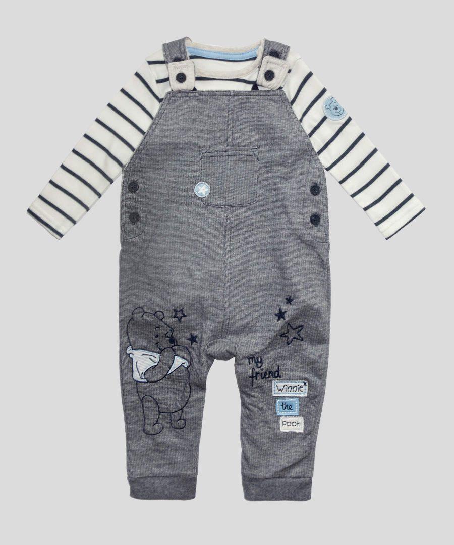бебешки комплект от 2 части Мечо пух за момче