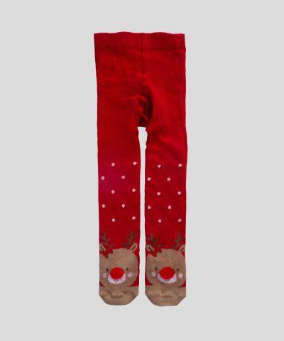 Коледен чорапогащник с елен