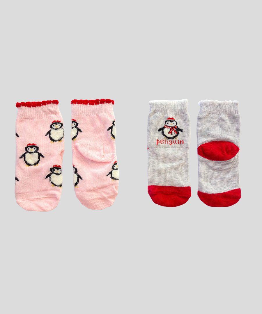 Комплект 2 чифта чорапи с пингвини