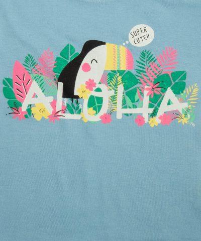 бебешка и детска тениска Aloha