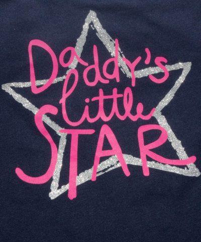 бебешка блуза daddy's little star за момиче
