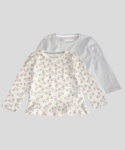 детски комплект 2бр. блузи за момиче