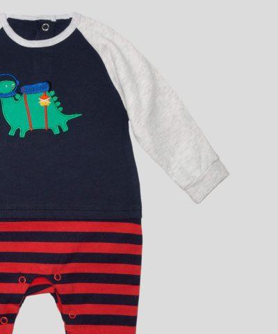 бебешки и детски Гащеризон с динозавър