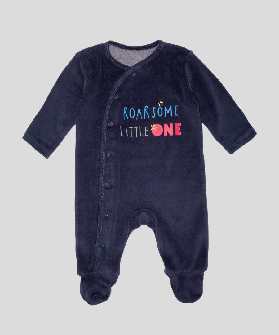 бебешки и детски Гащеризон от плюш ROARSOME