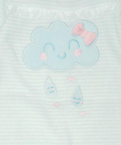 бебешки Гащеризон от плюш с облаче