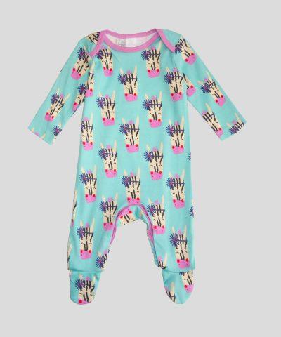 бебешки гащеризон със зебрички за бебе момиче