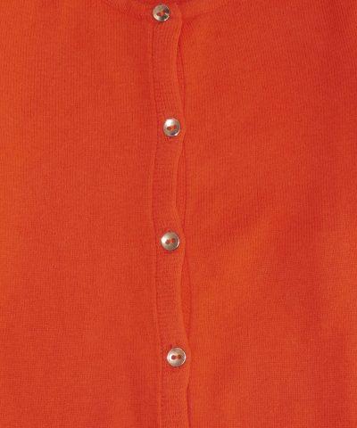 детско болеро в оранжев цвят