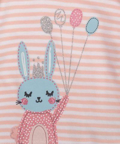 бебешка и детска Пижама със зайче