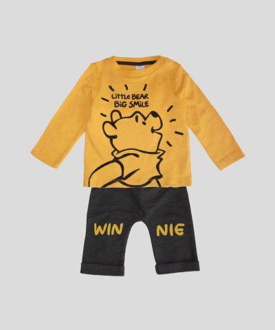 бебешки комплектМечо пух от био памук за момче