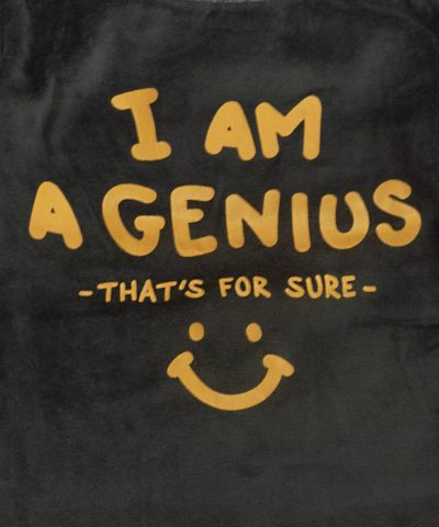 детски плюшен комплект I'm a genius момче