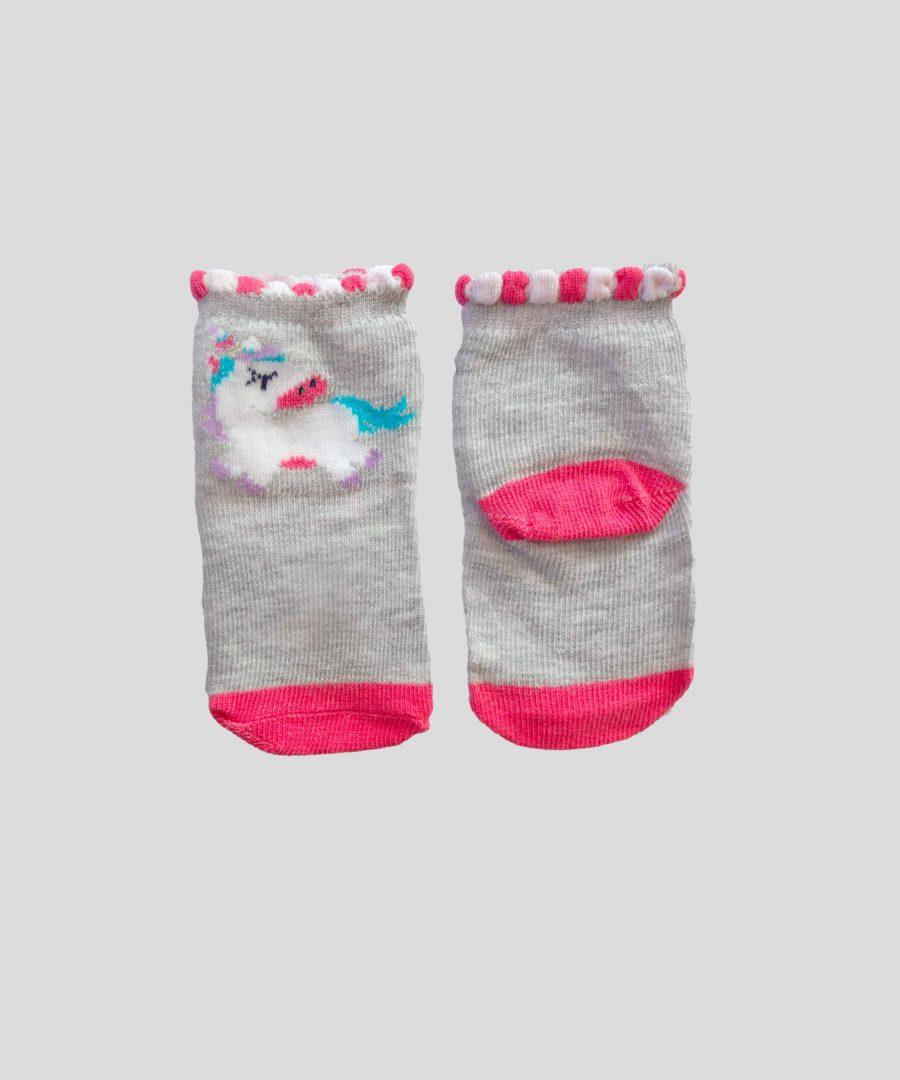 бебешки чорапки с еднорог