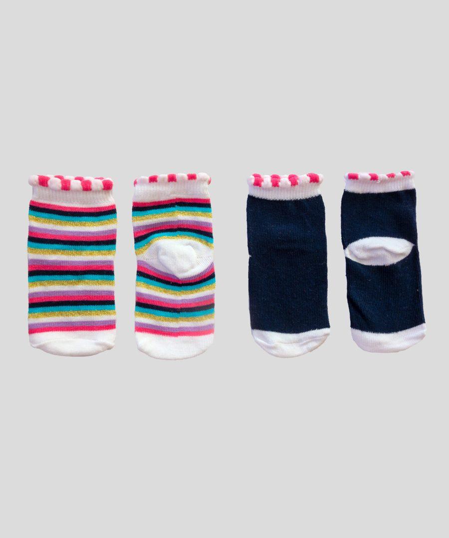 бебешки комплект 2 чифта чорапи