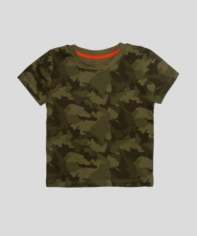 бебешка и детска тениска с камуфлажен десен