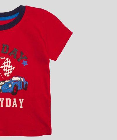 бебешка и детска Тениска let's race