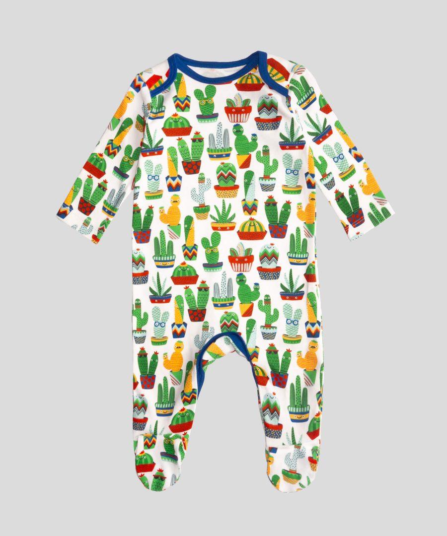 бебешки гащеризон с кактуси