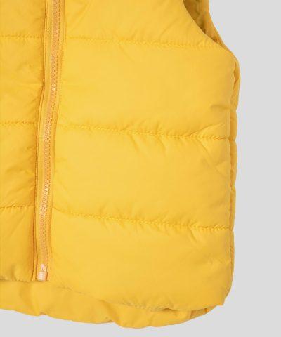 елек в жълт цвят за бебета и деца