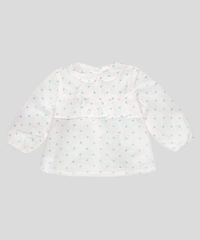Бебешка детска блуза на малки цветчета