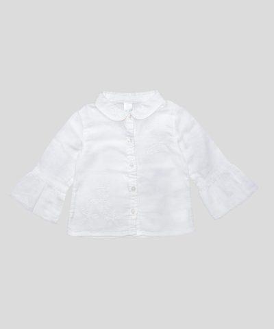 бебешка риза с бродерии
