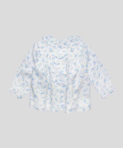 Бебешка блуза с флорални мотиви