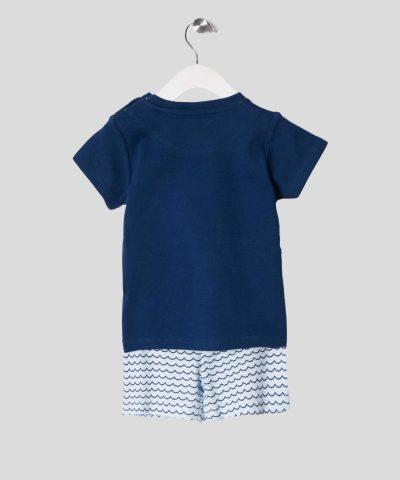 бебешки комплект тениска и панталонки с рибки