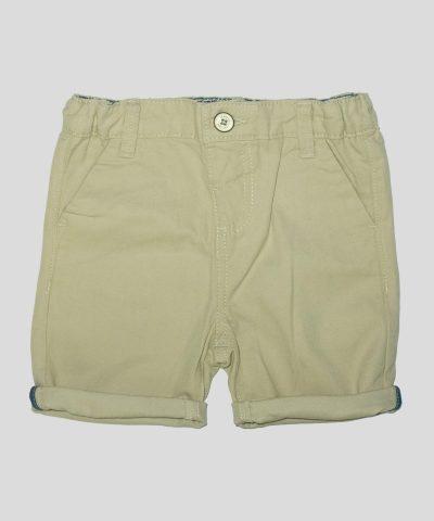 бебешки и детски къси панталонки в бежов цвят за момче