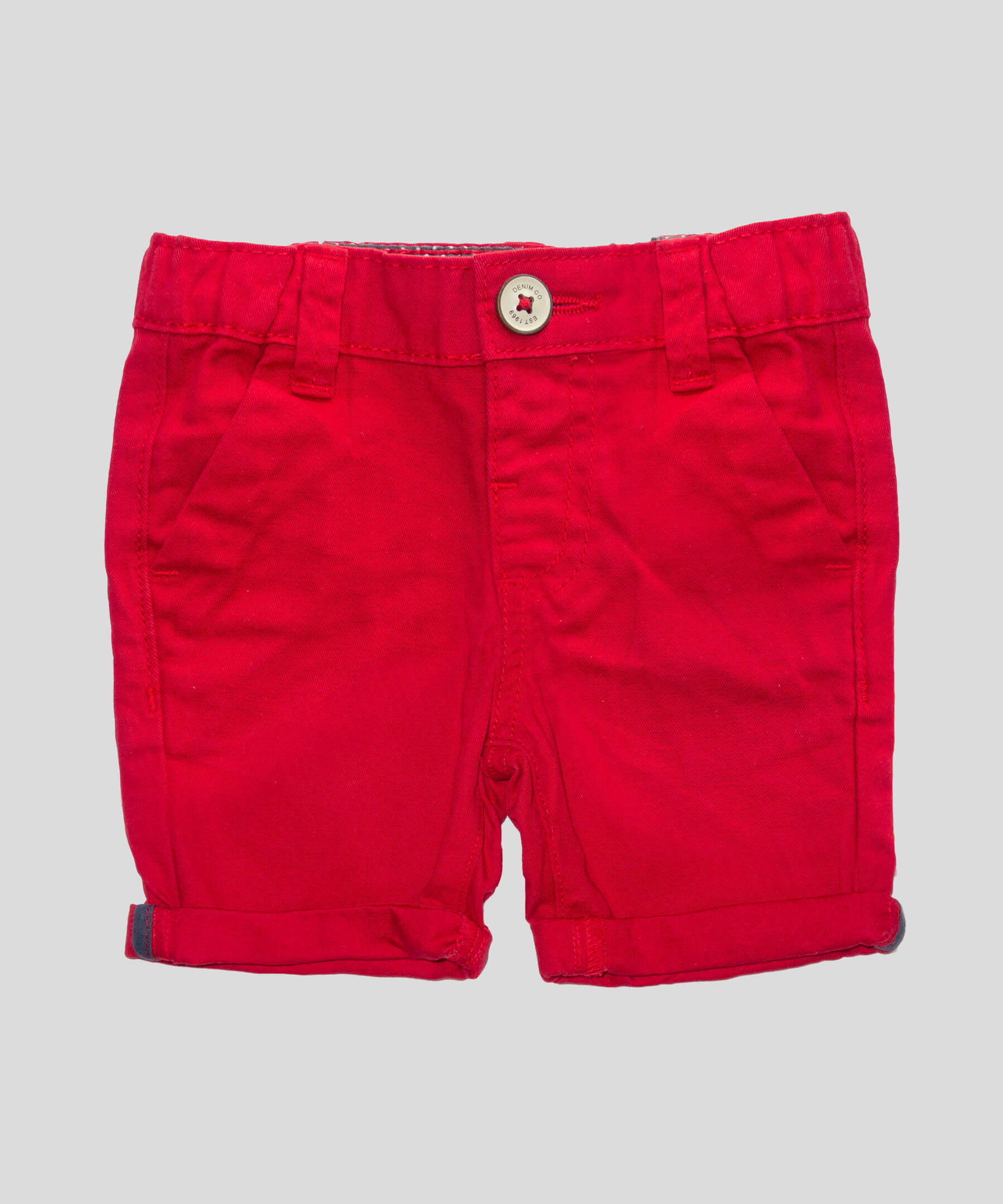 2558ccf0c2e Къси панталонки в червен цвят от 100% памук | just KIDDING