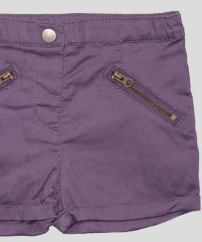 бебешки и детски къси панталонки в лилав цвят