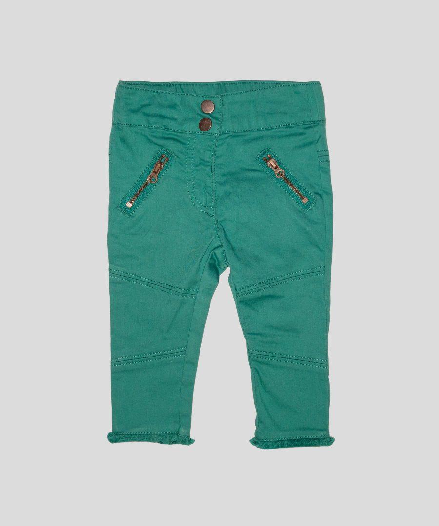 бебешки и детски панталон в цвят тюркоаз