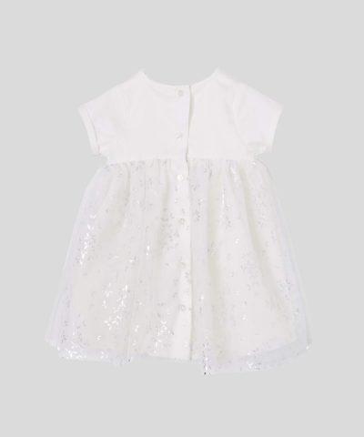 бебешка и детска официална рокля със звездички