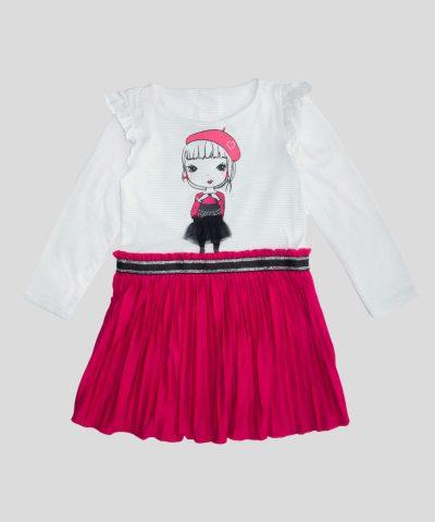 детска рокля с момиченце