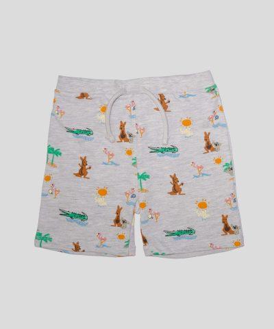 комплект тениска и къси панталонки Adventure за момче