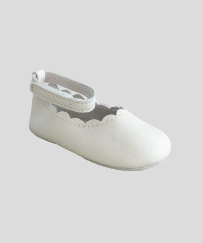 бебешки пантофки от естествена кожа тип балеринки