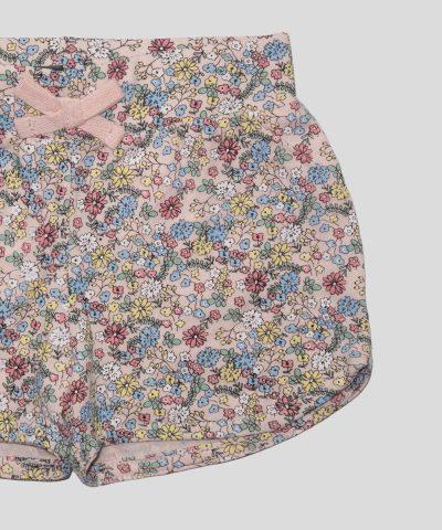бебешки къси панталонки с цветчета