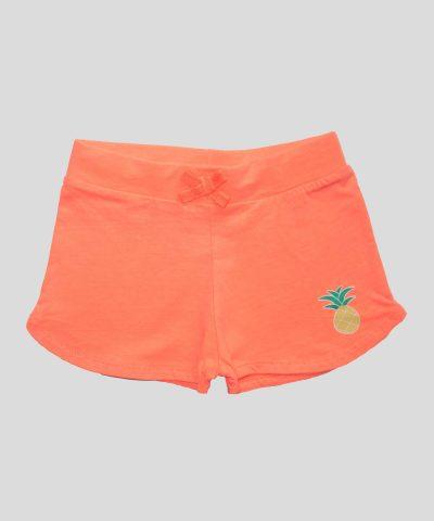 бебешки и детски къси панталонки в оранжев цвят (неон)