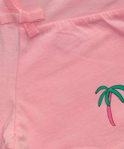бебешки и детски къси панталонки в розов цвят (неон) за момиче