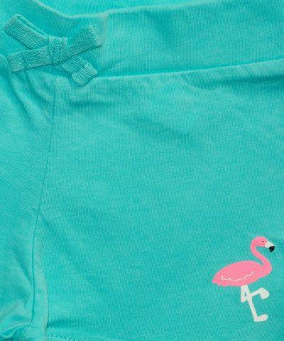 бебешки и детски къси панталонки в син цвят за момиче
