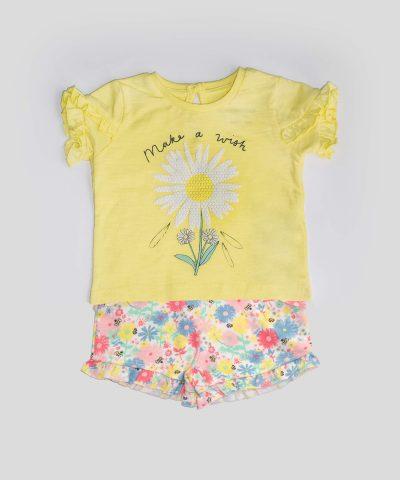 бебешки и детски комплект make a wish за момиче
