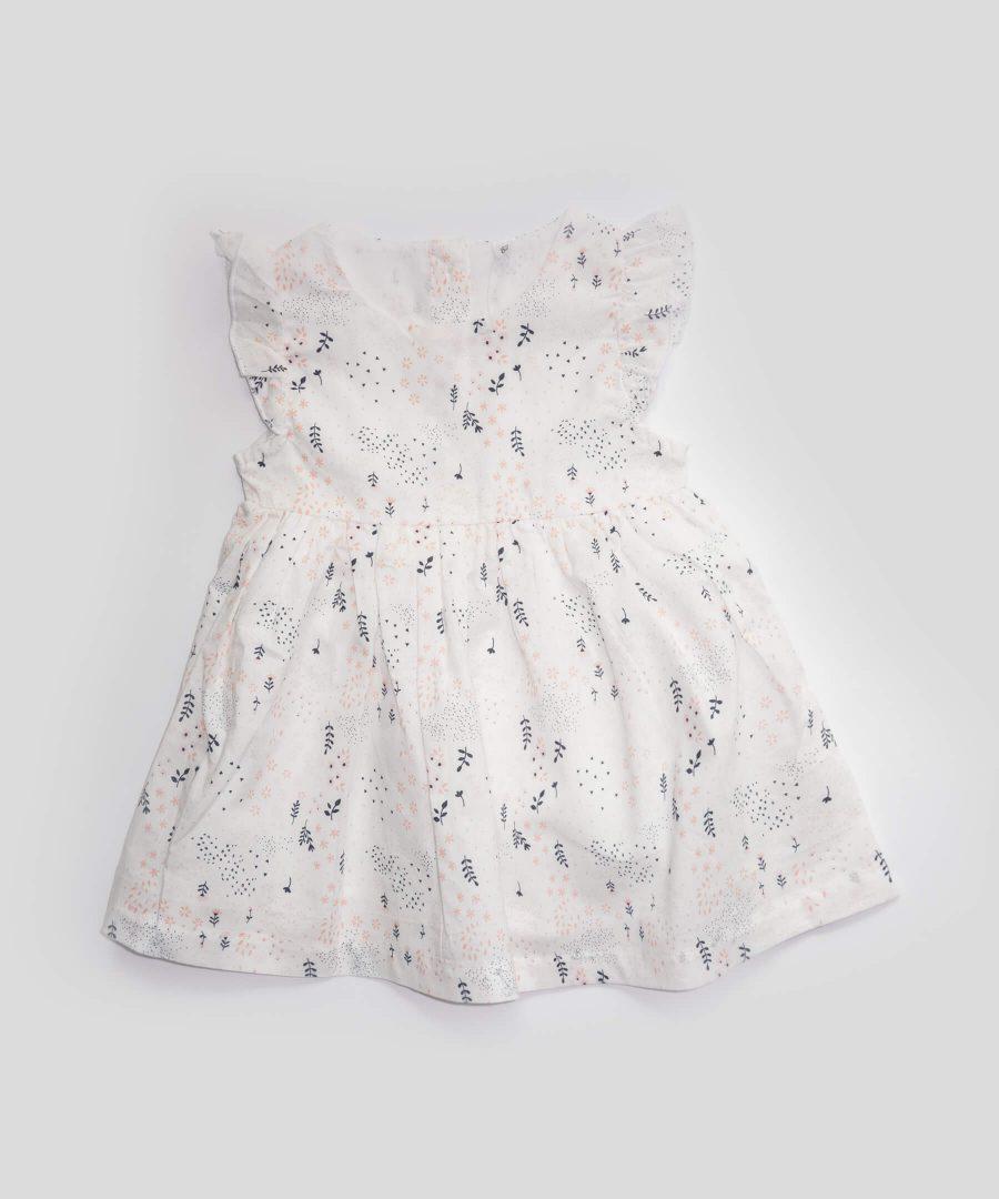 бебешка рокля с цветя