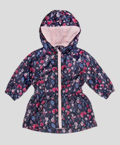 бебешко и детско тънко яке с цветя
