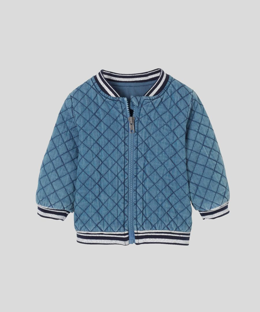 бебешко дънково яке