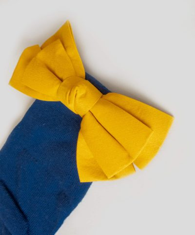 Чорапи с апликация панделка 2 до 5 години